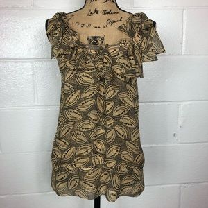 Diane Von Furstenberg Silk sleeveless Top size 0
